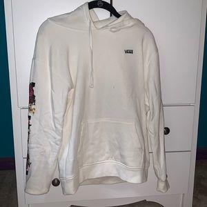 white Vans sweatshirt